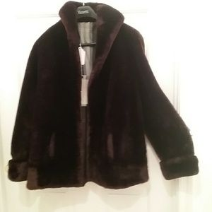 Doris Day Mouton (Moo-ton)Sheared fur #BR3